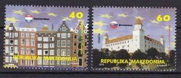 Macedonia 2016 In EU, The European Union, Amsterdam, Netherlands, Slovakia, Bratislava, MNH - Macedonia