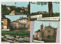 ASTI (042) - Saluti Da CHIUSANO D'ASTI (vedute) - FG/Vg 1978 (spedita, Con Firma, Dal Parroco) - Asti