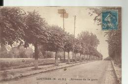 D95 - LOUVRES  - Avenue De La Gare - Louvres