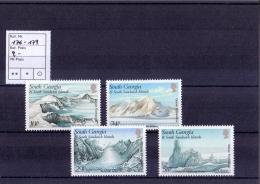 Falkland Dep. - Gletscher 1989(**/mnh) - Falkland Islands