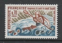 TIMBRE NEUF DE FRANCE - CHAMPIONNATS DU MONDE DE CANOË-KAYAK, A BOURG-SAINT-MAURICE N° Y&T 1609