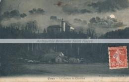 CPA 54 CIREY Le Château De Châtillon - Rare Plan De Nuit - Cirey Sur Vezouze