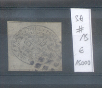 EGLISE - KIRCHENSTAAT AN 1867 3 CENTS USED WITH CLEAR DOTTED CANCELLATION EXPERTISED DIENA SASSONE NR. 15 OBLITERE - Estados Pontificados