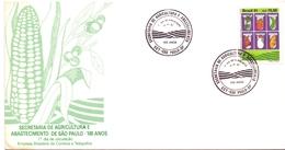 BRASIL  SECRETARIA DE AGRICOLTURA E ABASTECIMENTO SAN PAULO  FDC  (GEN170165) - Agricoltura