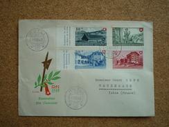 Enveloppe Illustrée Affranchie Suisse Fête Nationale 1948 Pour Sassenage Oblitération 1er Jour  Rütli FDC - Cartas