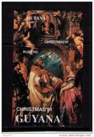 GUYANA 1991 - NAVIDAD - NOEL - CHRISTMAS - RUBENS - BLOCK (NEW) - Rubens