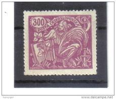 BAU1173 TSCHECHOSLOWAKEI CSSR 1923  MICHL 204 B Type II ** Gez.13,75:13,5 Postfrisch SIEHE ABBILDUNG - Tschechoslowakei/CSSR