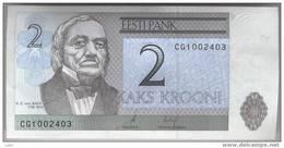 Estonia: 2 Krooni (2006) UNC - Estonia