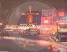 CARTE MUSICALE PHONOSCOPE MAMBO ROCK PARIS LE MOULIN ROUGE - Cartes Postales