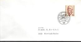 ALLEMAGNE   Lettre   1969 Ecrivains Ernst Moritz Arndt - Ecrivains
