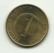 1994 - Slovenia 1 Tolar, - Slovenia