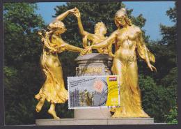Mozart Mozartbrunnen Maxicart, Dresden 3 Grazien MC, Johann Amadeus Mozart
