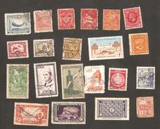 World Lot To Check Asia / Europe / Indocine / Tunisia / Senegal / Maroc / Caledonie ...21 Stamps - Mezclas (max 999 Sellos)