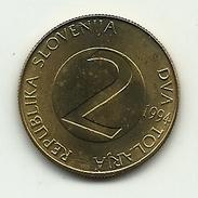 1994 - Slovenia 2 Tolarja, - Slovenia