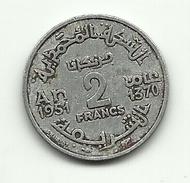 1951 - Marocco 2 Francs, - Marocco