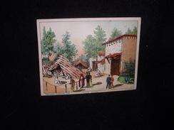 Exposition Universelle 1889. Tente Arabe .Grand Chromo 11 X 14,5. Sicard , Paris , Rue Amelot. Voir 2 Scans. - Cromo
