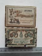 Ancienne Boite Publicité Plumes - Boxes