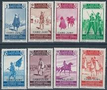 CJ85SGDEV-L4190TAN.Maroc Marocco. Lote 8 VAL.CABO JUBY ESPAÑOL ALZAMIENTO NACIONAL 1937 (Ed 85/101**) .Magnifica - 1931-50 Nuevos & Fijasellos