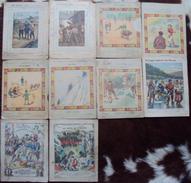 Lot 10 Cahier D'écolier Illustration  Des Années 1900. - Buvards, Protège-cahiers Illustrés