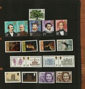 GREAT BRITAIN - QEII - 1973 - COMMS - 18 Stamps - MNH - Unused Stamps