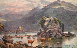 Irlande - Illustrateurs - Illustrateur - Raphaël Tuck N° 7283 - Oilette - Colleen Bawn Rock - Killarney - état - Irlande