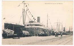 ES-1825   MALAGA : LEl Correro De Melilla - Málaga