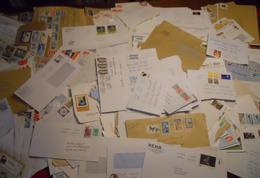 Lot 700 Enveloppes Des Années 1961-2010 Avec Quelques Recommandés , Aérogrammes , Entiers , Pret à Poster , Flammes Seca - Unclassified