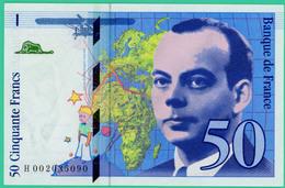 50  Francs - Saint Exupéry  -  France - N°H002035090 - 1992 -  Neuf - - 1992-2000 Laatste Reeks