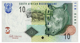 SOUTH AFRICA 10 RAND ND(2009) Pick 128b Unc - South Africa