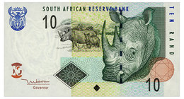 SOUTH AFRICA 10 RAND ND(2005) Pick 128a Unc - South Africa