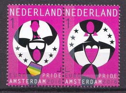 Nederland - Uitgiftedatum 18 Juli 2016 – Europride Amsterdam 2016 - Horizontaal Paar 2 - MNH/postfris - Periode 2013-... (Willem-Alexander)