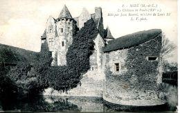 N°31668 -cpa Miré -le Château De Vaulx- - France