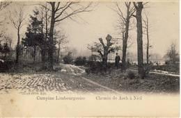 As Chemin De Asch à Niel 1902 Sterstempel - As