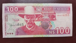 NAMIBIE : 100 Dollars - Namibie