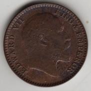 @Y@  Brits India    1/12 Anna 1909   (4557) - Inde