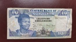 SWAZILAND : 10 Emalangeni 2006 - Swaziland