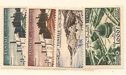 TUNISIE Scott C21-C24 Yvert PA22-PA25 (4) * Cote 28$ - Tunisie (1956-...)