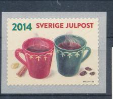 Sweden 2014 Facit #  3027 Christmas. Complete Set OfSingle Coil 6. MNH (**) - Nuevos
