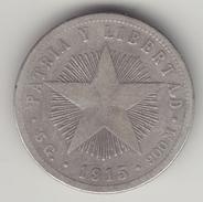 @Y@   Cuba   20 Centimos  1915    (4551) - Cuba