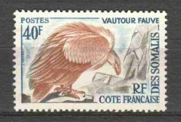 French Somali Coast 1962 Mi 340 MH BIRD