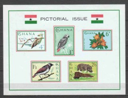 Ghana 1964 Mi Block 15 MNH BIRDS - Unclassified