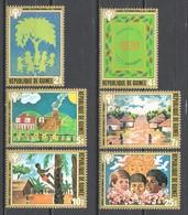 Guinee 1980 Mi 865-870 MNH UNICEF CHILDREN
