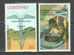 Lesotho 1973 Mi 149-150 MNH - Lesotho (1966-...)
