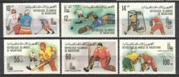 Mauretania 1980 Mi 671-676 MNH WINTER OLYMPICS