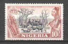 Nigeria 1953 Mi 82 MH (READ) - Nigeria (...-1960)