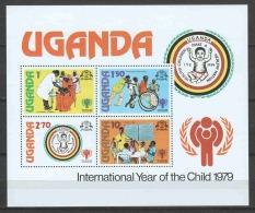 Uganda 1979 Mi Block 19 MNH UNICEF