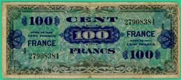 100  Francs -  France - Série 1944 - 4 - N° 27908384 - TB+ - - 1944 Drapeau/France