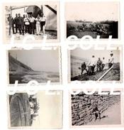 Lot De 6 Photos Allemandes WW2 Région De Boulogne Sur Mer/Wimereux (Pas-de-Calais) Allemand - 1939-45
