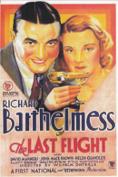 CPA ADVERTISING, THE LAST FLIGHT MOVIE POSTER - Publicité