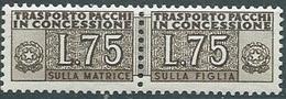 Italia,Repubblica, Pacchi In Concessione , Sassone 3 ** - Nuovi